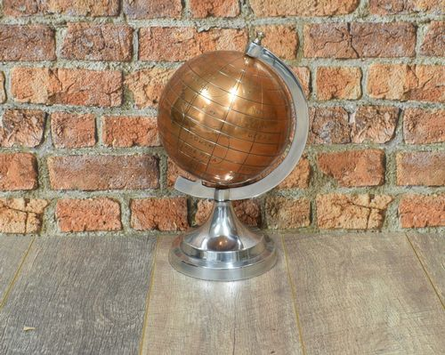 Aluminium Globe with Copper Ball